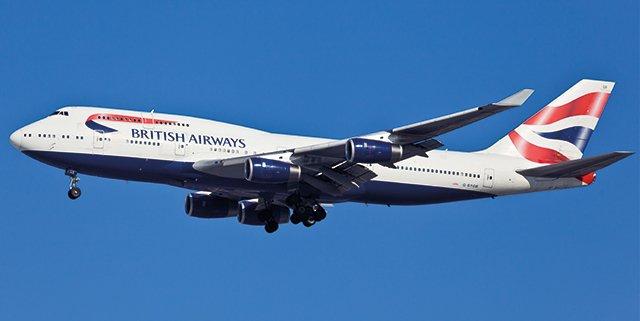 British Airways dismette i Boeing 747