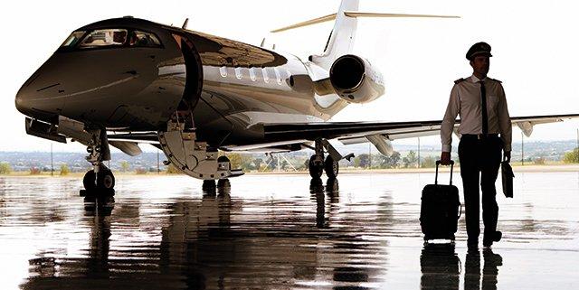 Il sogno di diventare pilota di aereo