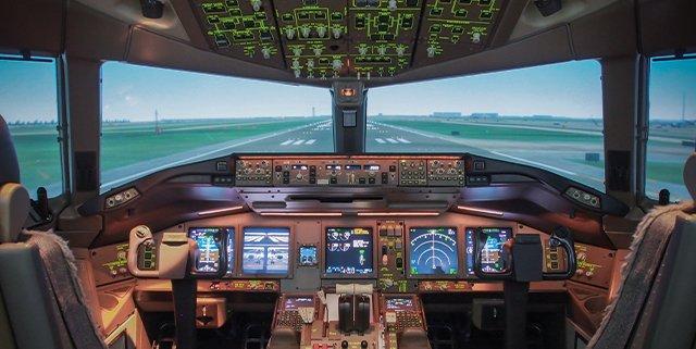 Quali sono i vantaggi di un simulatore di volo