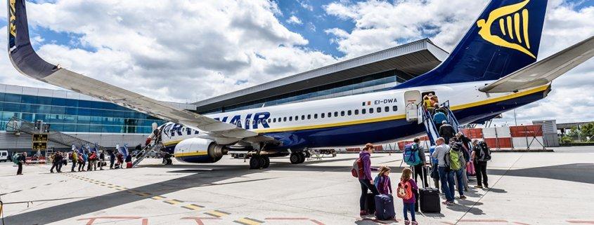 Ryanair scala la classifica delle compagnie aeree