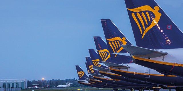 Nuovi ordini per Ryanair