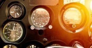 Cockpit di aeroplano