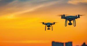 Utilizzo droni per il trasporto di merci con il progetto di Leonardo