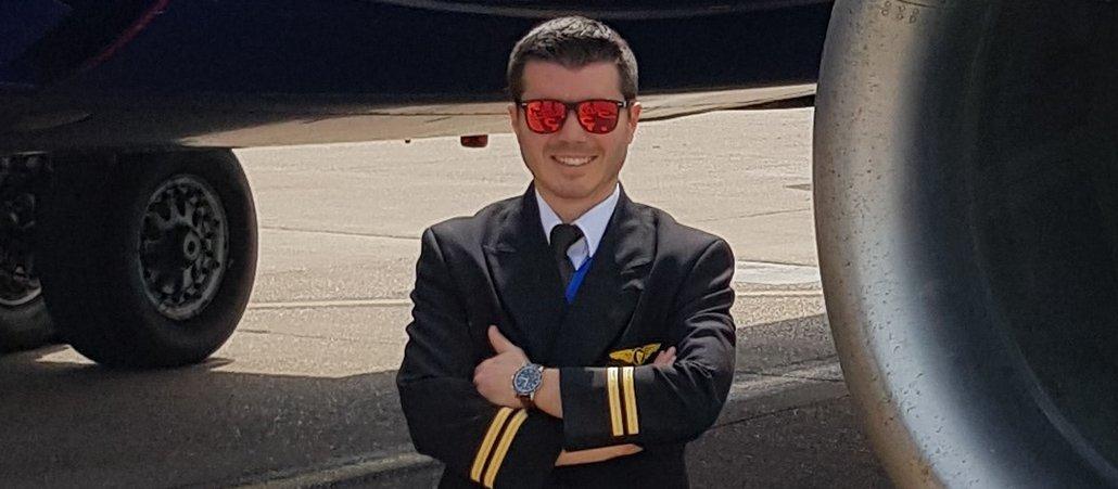 Congratulazioni al nostro ex allievo Massimo, ora First Officer di Ryanair