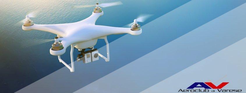 corso pilota droni aprile 2019